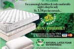 Eco friendly Mattresses and Pillows in Sri Lanka