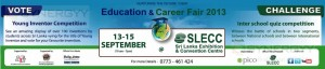 Education & Career fair- 2013 at SLECC