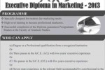 Executive Diploma in Marketing 2013 – University of Colombo,