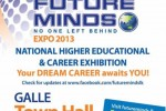 Future minds Expo 2013 at Galle Town Hall – 7th & 8th September 2013