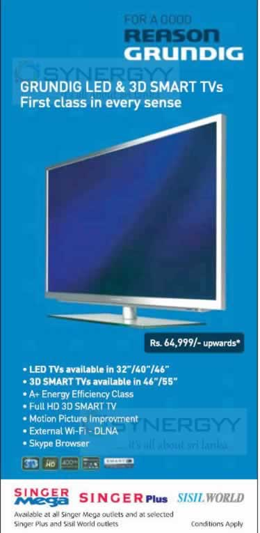 LED TV Prices and Promotions in Sri Lanka – SynergyY