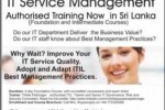 IT Service Management in Sri Lanka