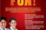 Job Vacancy in KFC Sri Lanka