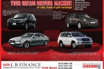 LB Finance leasing for your dream Vehicles