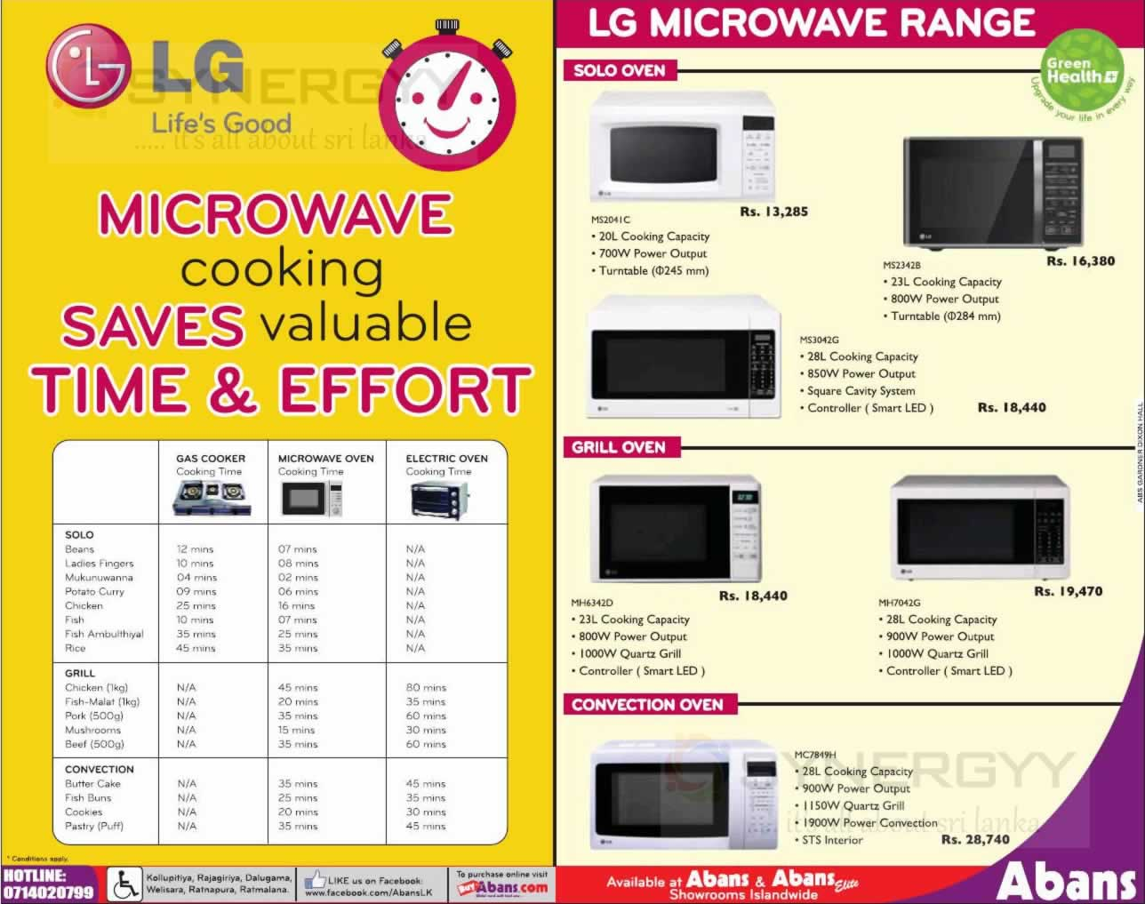 Lg Microwave Oven Prices In Sri Lanka Bestmicrowave