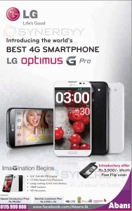 LG Optimus G Pro for Rs. 99,000.00 in Sri Lanka