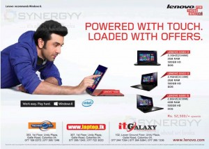 Lenovo Laptop Prices in Sri lanka – September 2013