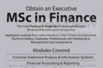 MSc in Finance by Strategy