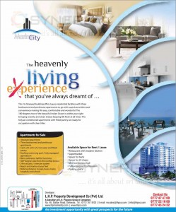 Marine City The heavenly living experience in Colombo