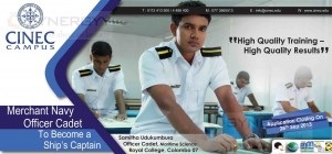 Merchant Navy Office Cadet Professional Qualification by CINEC