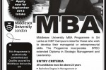 Middlesex University London MBA Degree Programme