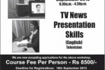 News Reader / Presenter Workshop in Sri Lanka by Sri lanka college of jounalism