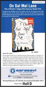 On San Mal Lane by Re Freeman Now Available for USD 24.70 (after 5% Discount)with Free Delivery to Sri Lanka