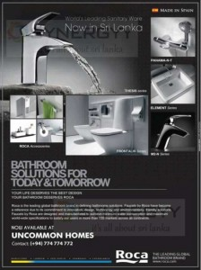 Roca Sanitary ware now in Sri Lanka