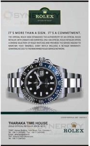 Rolex Wrist Watches in Sri Lanka Sole Official Distributor of Tharaka Time House