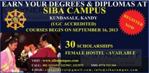 SIBA Campus Degree Programme and 30 Scholarships