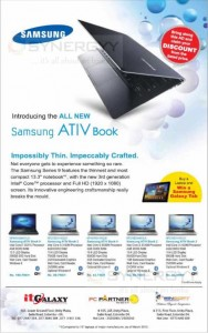 Samsung introducing the all new Samsung ATIV book
