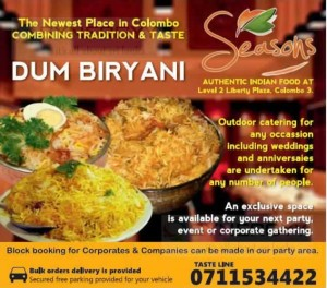 Seasons Dum Biriyani
