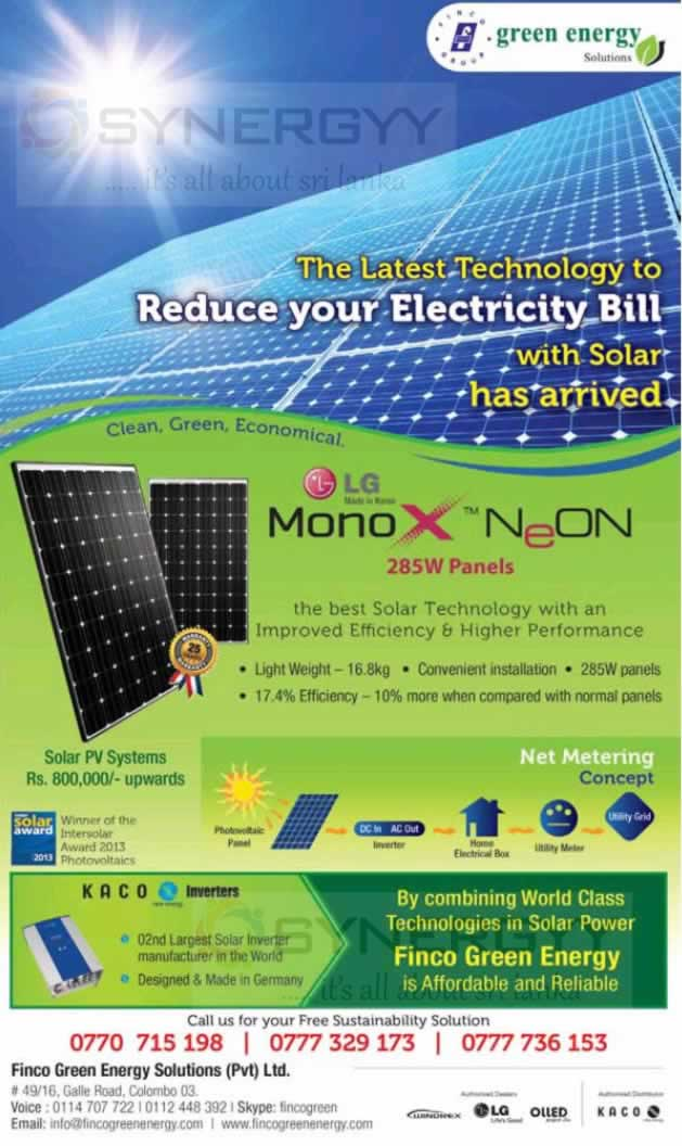 Price Of Solar Panels In Sri Lanka Solar Tracking System