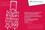 Sri Lankan Airline South Indian Holidays from LKR25,999.00