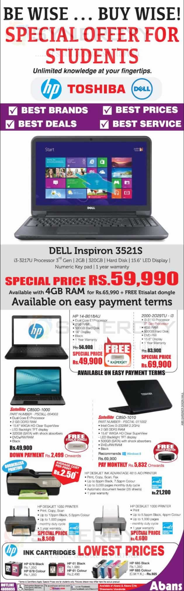 Toshiba Laptops Prices and Promotions in Sri Lanka – SynergyY