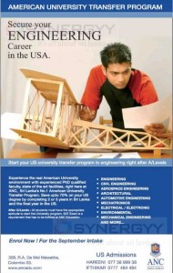 US Engineering Degree Programmes in Sri Lanka by ANC