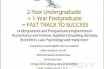 University of Buckingham Fast Track Degree Programmes