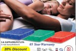 20% off for Lionco Orthopaedic Spring Mattress till 31st October 2013