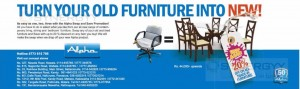 20% off on All in Furniture from Alpha