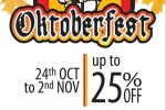 25% Off for HNB Credit card on Oktoberfest at Hilton till 2nd November 2013