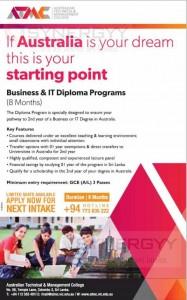 Australian Business and IT Degree Programme in Sri Lanka