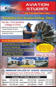 Aviation Studies from Guangzhou Civil Aviation College of China