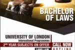 Bachelor of Laws Degree Programme in Sri lanka
