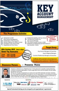 Key Account Management Workshop by SLIM