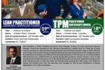 Lean Practitioner & TPM Practitioner Workshops – Starts on 23rd October 2013