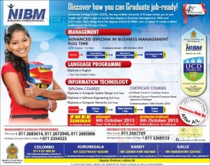 NIBM Degree Programmes in Sri Lanka