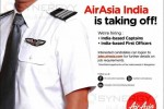 Pilot Vacancy for Indian at Air Asia