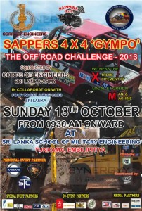 Sappers 4x4 GYMPO – on 13th October 2013
