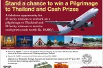Save in a People's Bank Parinatha Account and Stand a Chance to will Pilgrimage to Thailand