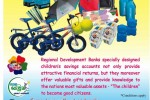 Save with the Regional Development Bank and win valuable gifts