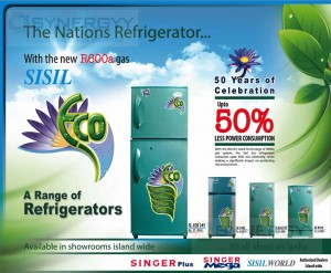 Sisil 50% Lesser Power Consumption Refrigerator for Rs. 34,999.00 upwards
