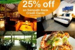 25% off at Amethyst Resorts for Sampath Bank Credit Cards