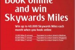 Book Emirates Online and Win Skywards Miles