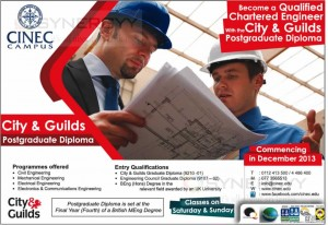 City & Guilds Postgraduate Diploma by CINEC Campus