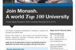 Monash University Malaysia Students Enrollment in Sri Lanka – 6th & 7th November 2013