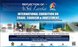 Reflection of Sri Lanka International Exhibition on Trade, Tourism & Investment on 13th to 17th November 2013