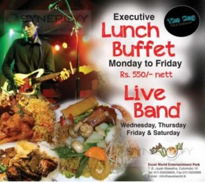 The Keg Buffet Lunch for Rs. 550.00 at Excel World