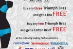 Triumph Shopper Bonanza on 8th to 10th November 2013