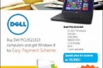 Windows 8 Monthly Installment scheme for Rs. 1,450.00 from Abans
