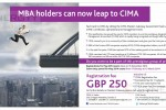 CIMA Qualifications for MBA Holders – (11 CIMA Subject Exemptions for MBA Holders)